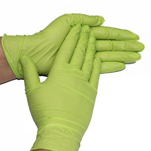 Перчатки нитриловые без пудры Style color Apple