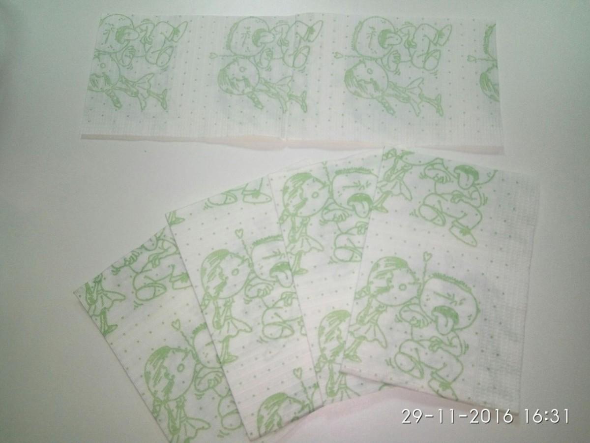 Салфетки( нагрудники) для пациента, детские с рисунком, 50 шт