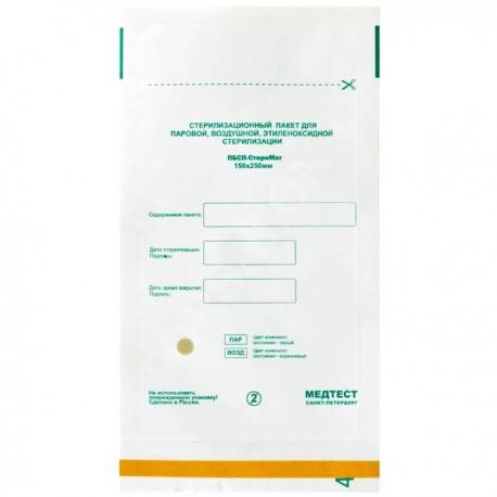 Крафт пакеты 115*200мм (белые) СтериМаг /1шт