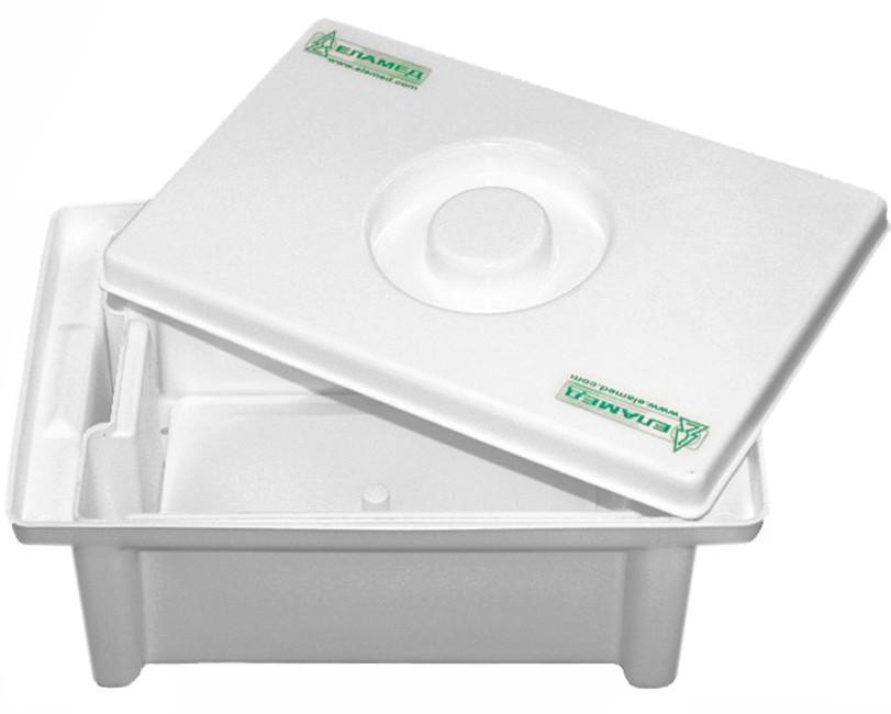 Емкость-контейнер для дезинфекции и обработки мед. изделий ЕДПО-3-01.