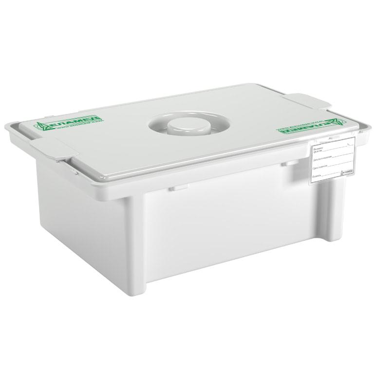 Емкость-контейнер для дезинфекции и  обработки мед. изделий ЕДПО-5-01
