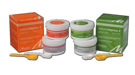 Ventura  impress2 putty soft regular set 300+300 ml