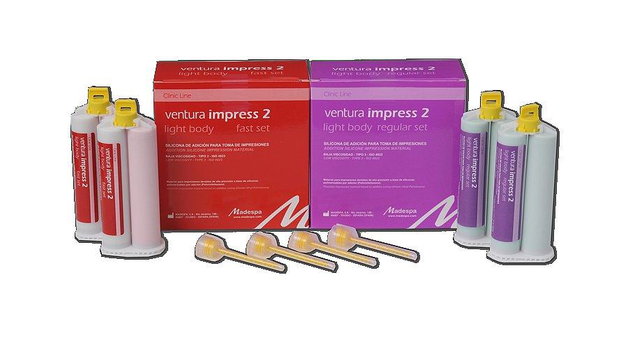 Ventura impress 2 light body 2*50ml  fast seat