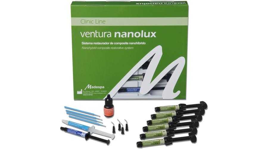 Ventura nanolux набор 4 шприца