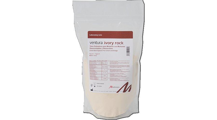 Супергипс Ventura Ivory Rock 2 кг