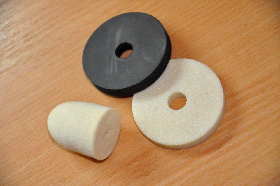 Круг карборундовый для шлифмашины (белый)