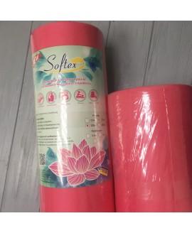 Рулон спанбонд 100*80 см без перфорации Softex в ассортименте