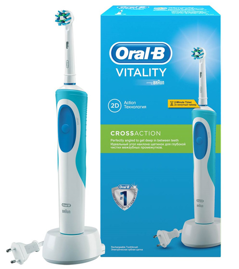 Зубная щетка ORAL-B Vitality crossaction