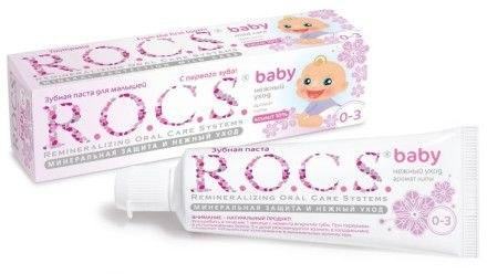 Зубная паста R.O.C.S  беби 0-3 года