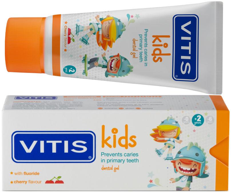 Зубная паста-гель Vitis Kids  50 мл