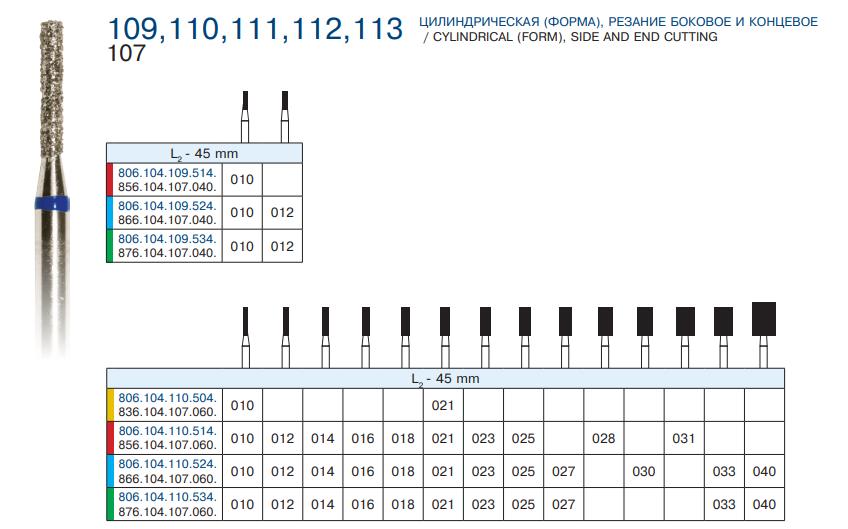 109 - 113 Цилиндр