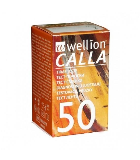 Тест-смужки Wellion Calla Light 50 шт.