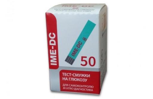 Тест-полоски IME-DC / 50 шт.