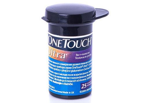 Тест-полоски One Touch Ultra, 25 шт