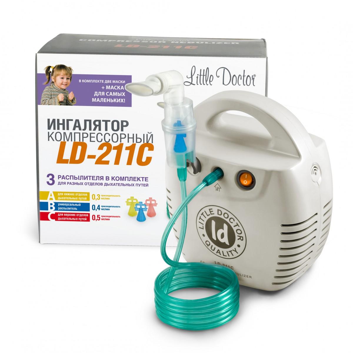 Інгалятор компресорний LD-211C