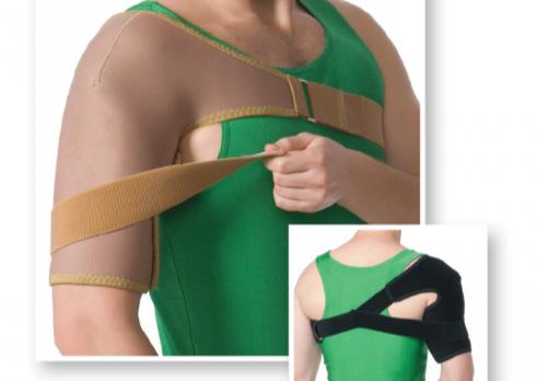 Бандаж на плечовий суглоб, еластичний, Art. 8001