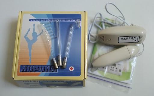 Апарат КОРОНА-2 для дарсонвалізації