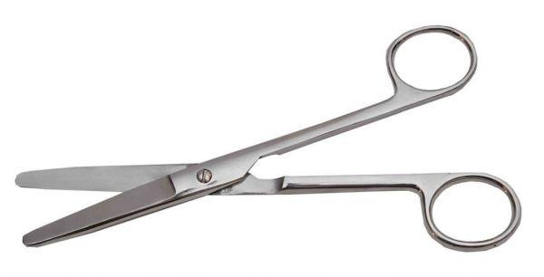 Ножиці тупокінцеві прямі, 17 см