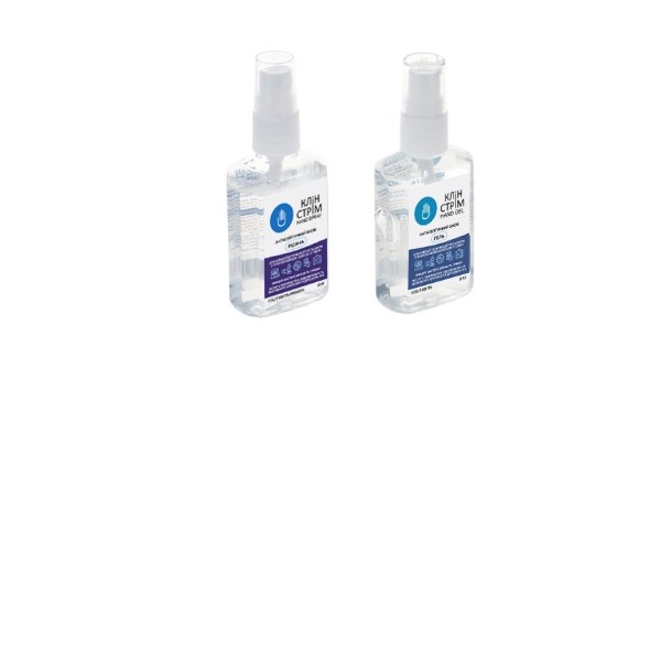 Клин Стрим (CLEAN STREAM) - Антисептический гель для рук , 60 мл