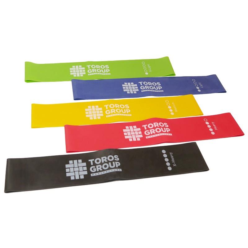 Стрічки-петлі для фітнесу Торос TP-003/1 (5 шт)