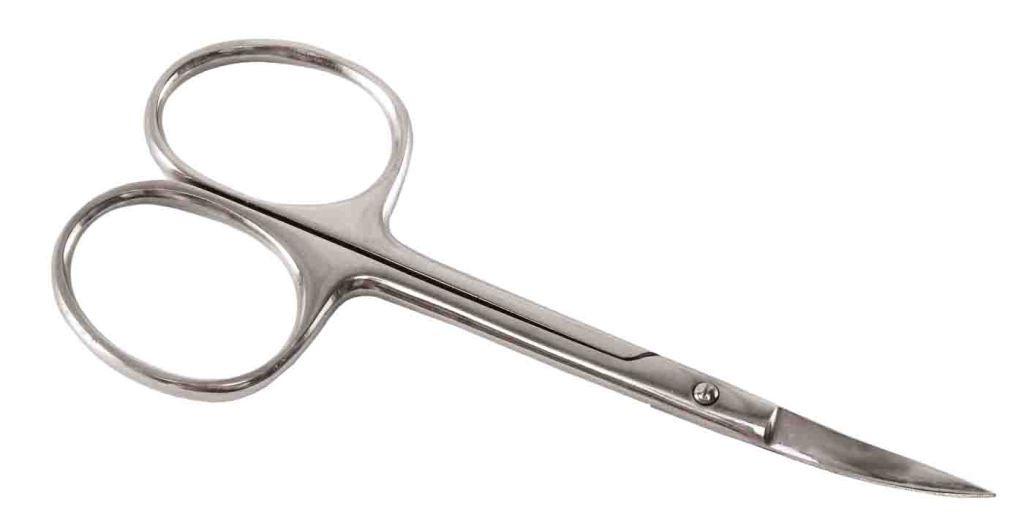 Ножницы остроконечные изогнутые, 14 см №20.1754