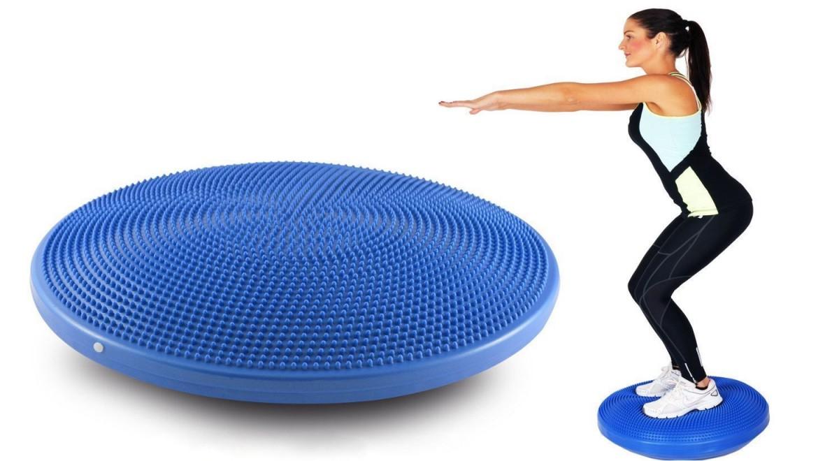 Масажер-подушка баланстровочная (высота 5,3 см) OМ-512