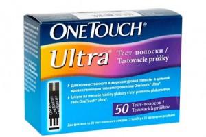 Тест-смужки One Touch Ultra /50 шт