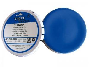 Воск Thowax Yeti синий, модлировочный, 70г