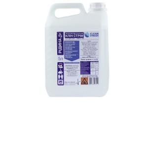 Клін Стрім (CLEAN STREAM) засіб для дезинфукції рук і шкіри, 5 л