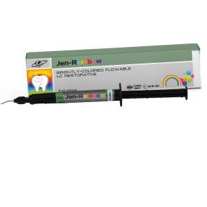 Jen-Rainbow (Джен-рейнбоу) цветной композит шприц 3 г (2 мл)