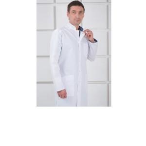 Имидж, халат мужской, белый